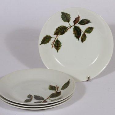 Arabia Ruusu leivoslautaset, 4 kpl, suunnittelija , serikuva