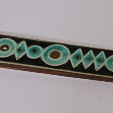 Arabia Ornamentti koristelaatta, käsinmaalattu, suunnittelija , käsinmaalattu, pieni, signeerattu