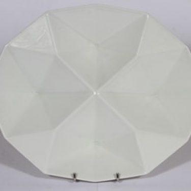 Arabia KF-2 lokerovati, valkoinen, suunnittelija Kaj Franck,