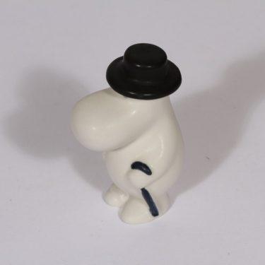 Arabia figuuri, Muumipappa, suunnittelija Tuulikki Pietilä, Muumipappa, pieni, käsinmaalattu