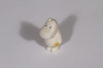 Arabia figuuri, Muumipeikko, suunnittelija Tuulikki Pietilä, Muumipeikko, pieni, käsinmaalattu