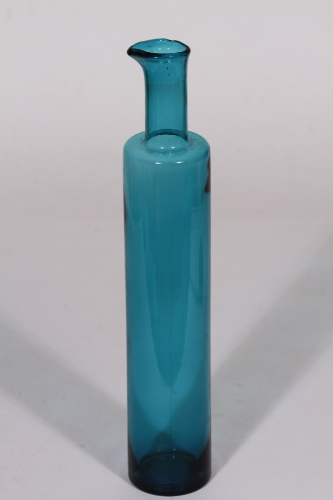 Riihimäen lasi Koristepullo koristepullo, signeerattu, suunnittelija Nanny Still, signeerattu