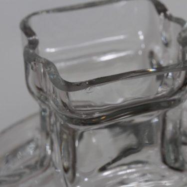 Riihimäen lasi Ahkeraliisa maljakko, kirkas, suunnittelija Helena Tynell,  kuva 3