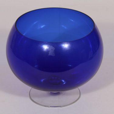 Kumela 204=2550 boolimalja, sininen, suunnittelija Sirkku Kumela-Lehtonen,
