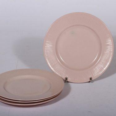 Arabia Sointu leivoslautaset, vaaleanpunainen, 4 kpl, suunnittelija ,