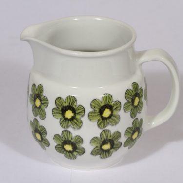 Arabia Primavera kaadin, 1 l, suunnittelija Esteri Tomula, 1 l, serikuva, kukka-aihe, retro