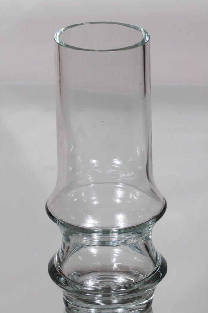 Riihimäen lasi Reimari maljakko, kirkas, suunnittelija Tamara Aladin,