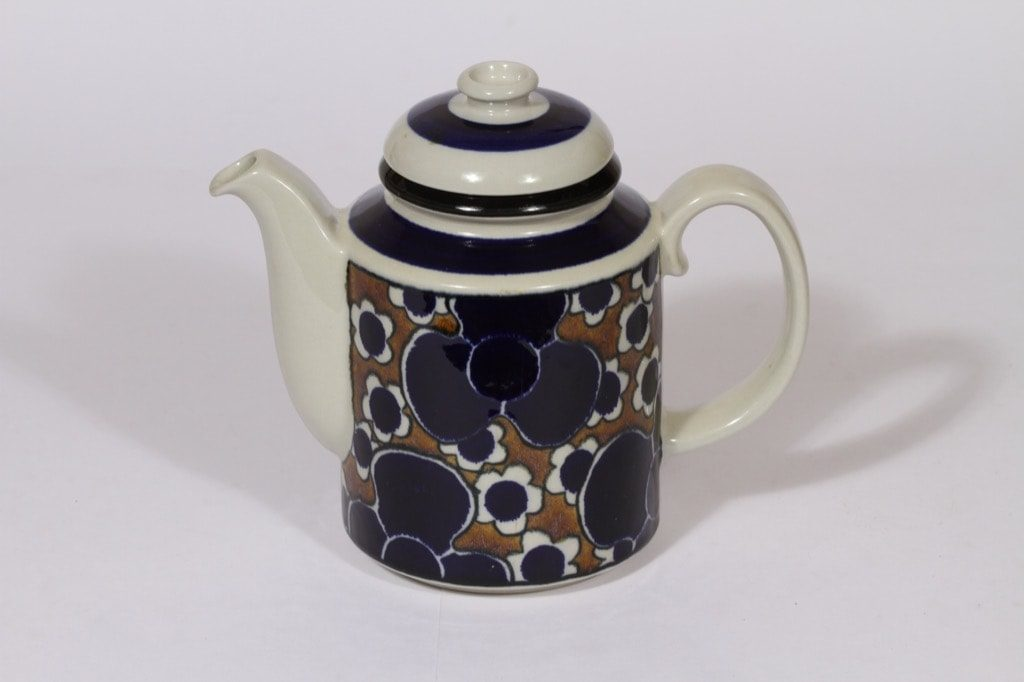 Arabia Saara kahvikaadin, 1 l, suunnittelija , 1 l, puhalluskoriste, retro