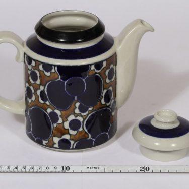 Arabia Saara kahvikaadin, 1 l, suunnittelija , 1 l, puhalluskoriste, retro kuva 2