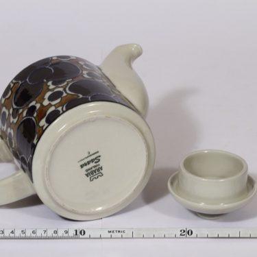 Arabia Saara kahvikaadin, 1 l, suunnittelija , 1 l, puhalluskoriste, retro kuva 3
