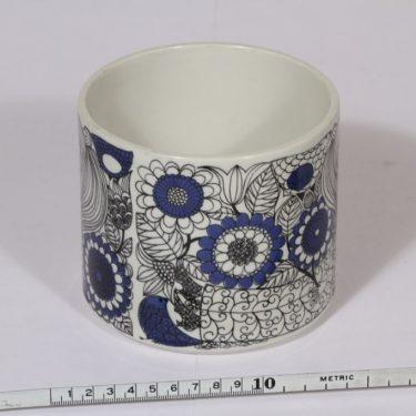 Arabia Pastoraali maljakko, sininen, suunnittelija , suuri, serikuva, satuaihe kuva 2