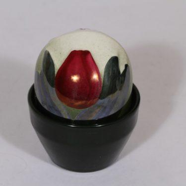 Arabia koriste-esine, Ikikukka, suunnittelija Heljä Liukko-Sundström, Ikikukka, punainen