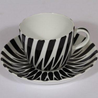 Arabia Toini kahvikuppi, käsinmaalattu, suunnittelija , käsinmaalattu