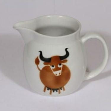 Arabia Heluna kaadin, 1 l, suunnittelija , 1 l, puhalluskoriste, lehmäaihe