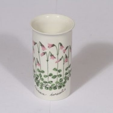 Arabia Botanica maljakko, Vanamo, suunnittelija , Vanamo, serikuva