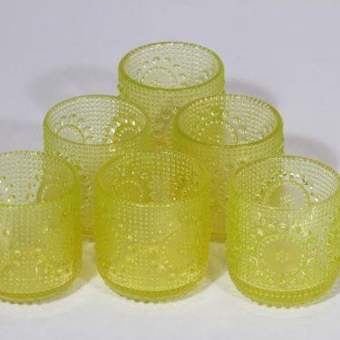 Riihimäen lasi Grapponia glasses, 15 cl, 6 pcs, designer Nanny Still