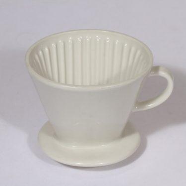 Arabia KS 2 kahvisuodatin, valkoinen, suunnittelija ,