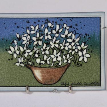 Arabia koristelaatta, Iloa ja toivoa, suunnittelija Heljä Liukko-Sundström, Iloa ja toivoa, pieni, serikuva