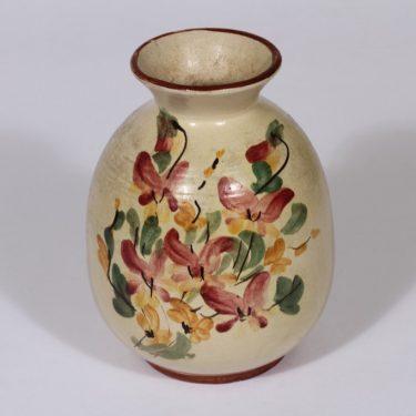 Kupittaa clay 245 vase, hand-painted
