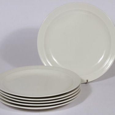 Arabia Harlekin lautaset, matala, 6 kpl, suunnittelija , matala