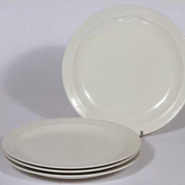 Arabia Harlekin lautaset, matala, 4 kpl, suunnittelija , matala