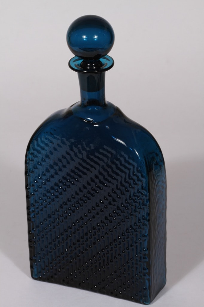 Riihimäen lasi Flindari karahvi, 100 cl, suunnittelija Nanny Still, 100 cl, suuri