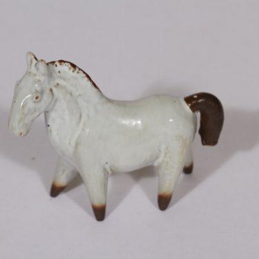 Arabia figuuri, hevonen, suunnittelija Anja Juurikkala, hevonen, pieni, käsinmaalattu, signeerattu