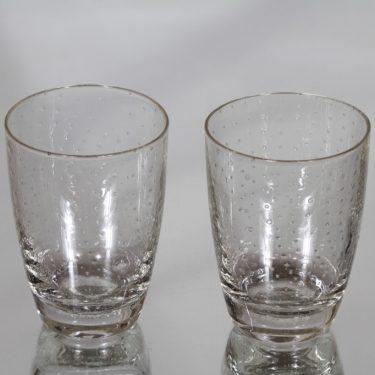 Nuutajärvi Pore lasit, 20 cl, 2 kpl, suunnittelija Gunnel Nyman, 20 cl