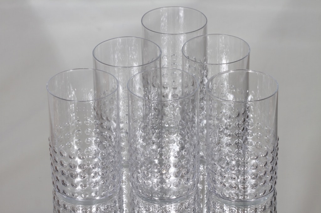 Riihimäen lasi Grappo lasit, 35 cl, 6 kpl, suunnittelija Nanny Still, 35 cl