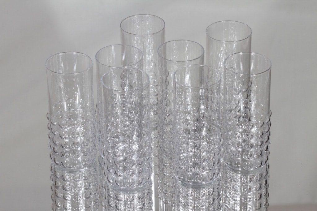 Riihimäen lasi Grappo lasit, 16 cl, 8 kpl, suunnittelija Nanny Still, 16 cl