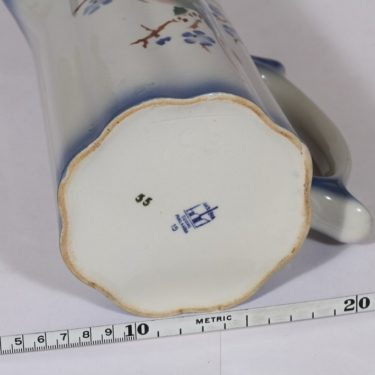 Arabia Papukaija kaadin, 1 l, suunnittelija , 1 l, puhalluskoriste, puhallusfonfi, lintuaihe kuva 3