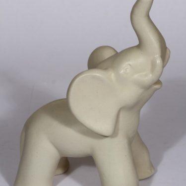 Kupittaan savi 359 III eläinfiguuri, norsu, suunnittelija Kerttu Suvanto-Vaajakallio, norsu, suuri kuva 2
