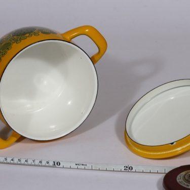 Finel Primavera kattila, 1,5 l, suunnittelija Raija Uosikkinen, 1,5 l, pieni, serikuva, retro kuva 3
