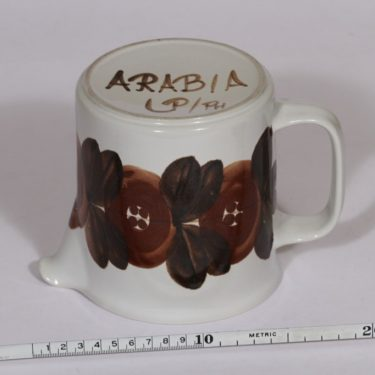Arabia Rosmarin kaadin, 1 l, suunnittelija , 1 l, käsinmaalattu, signeerattu kuva 2