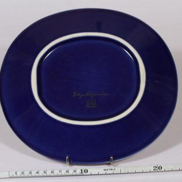 Arabia Florence vati, sininen, suunnittelija Birger Kaipiainen, pieni, soikea, serikuva kuva 2