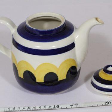 Arabia Paju kahvikaadin, 1 l, suunnittelija Anja Jaatinen-Winquist, 1 l, Käsinmaalatturetro, käsinmaalattu kuva 2