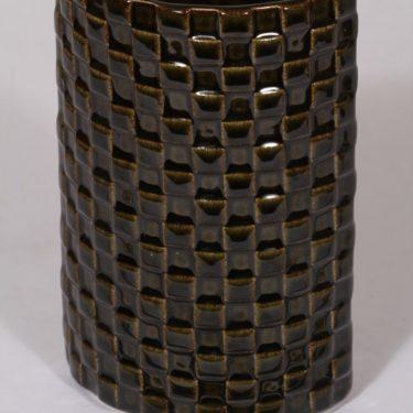 Arabia Harlekiini maljakko, ruskea, suunnittelija ,  kuva 3