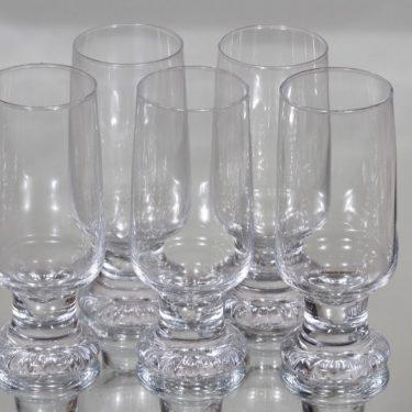 Iittala Joiku lasit, 37 cl, 5 kpl, suunnittelija Tapio Wirkkala, 37 cl