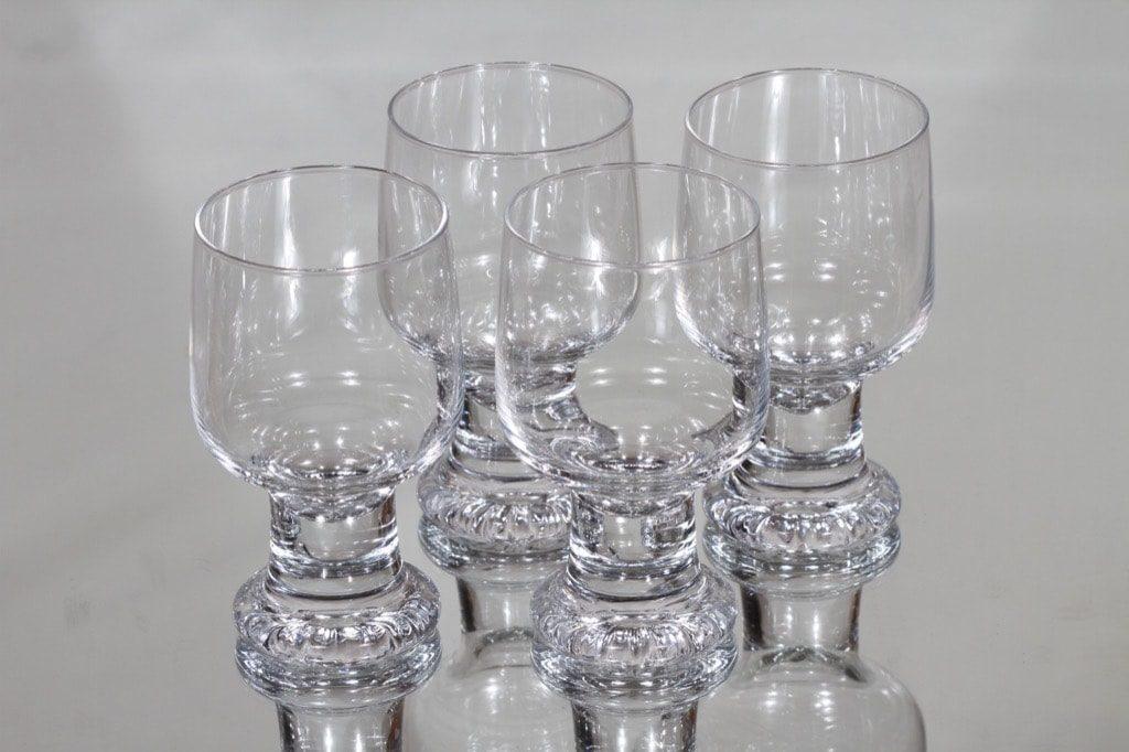 Iittala Joiku lasit, 30 cl, 4 kpl, suunnittelija Tapio Wirkkala, 30 cl