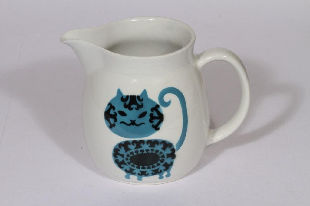 Arabia Kissa kaadin, 1.5 l, suunnittelija , 1.5 l, puhalluskoriste, kissa-aihe
