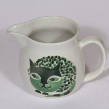Arabia Kissa kaadin, 0.5 l, suunnittelija , 0.5 l, pieni, puhalluskoriste, kissa-aihe