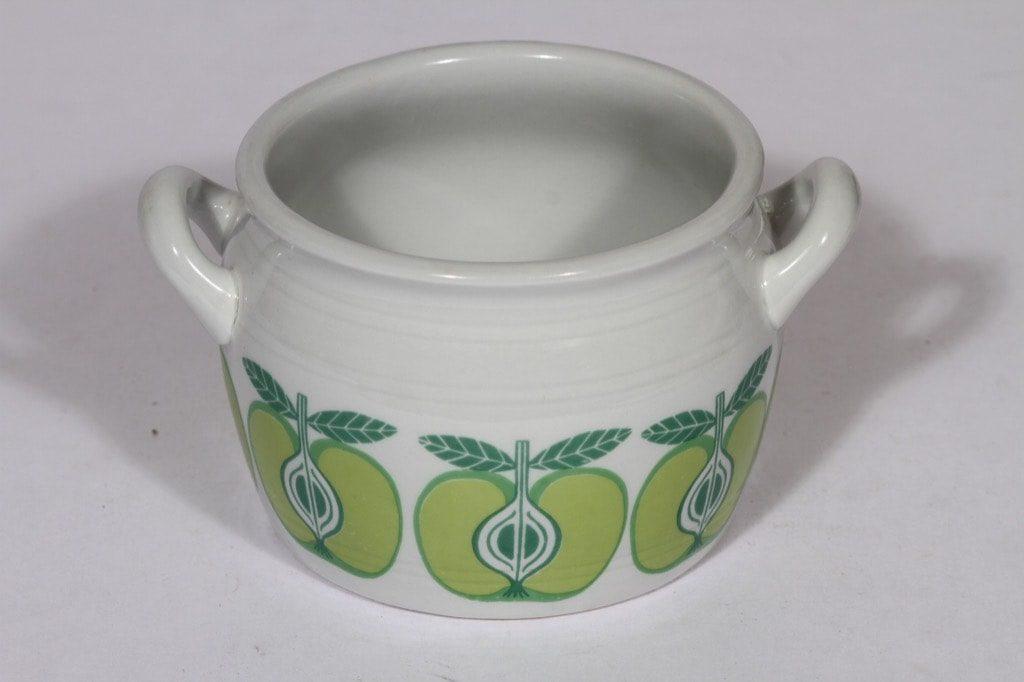 Arabia Pomona ruukku, 0.5 l, suunnittelija , 0.5 l, serikuva, omena, retro
