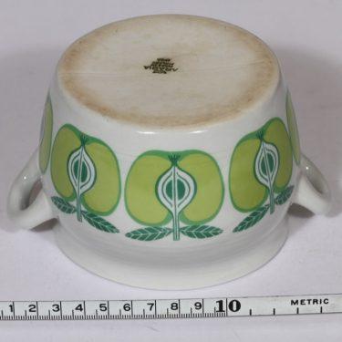 Arabia Pomona ruukku, 0.5 l, suunnittelija , 0.5 l, serikuva, omena, retro kuva 2
