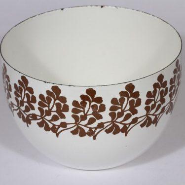 Finel kulho, ruskea, suunnittelija , serikuva, ornamentti