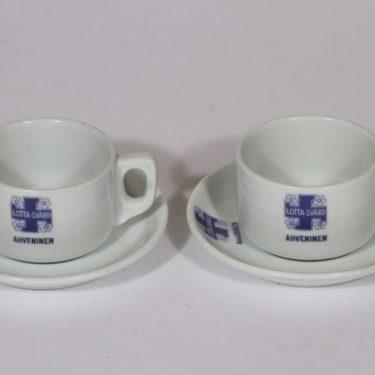 Arabia Lotta-Svärd kahvikupit, 2 kpl, suunnittelija , painokoriste
