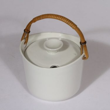 Arabia AL marmeladirasia, valkoinen, suunnittelija , pieni