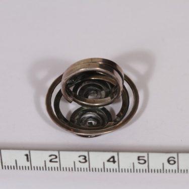 Kupittaan kulta sormus, hopea, suunnittelija Elis Kauppi, hopea kuva 2