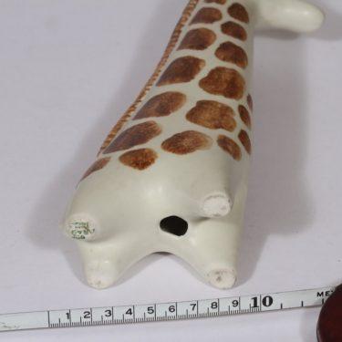 Arabia figuuri, kirahvi, suunnittelija Taisto Kaasinen, kirahvi, käsinmaalattu kuva 3