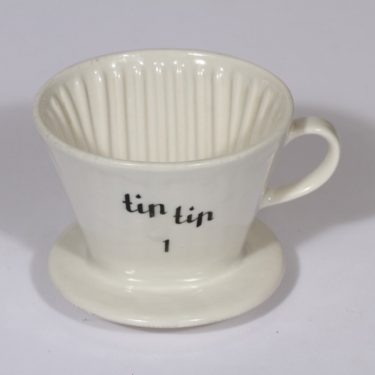 Arabia Tip Tip kahvisuodatin, valkoinen, suunnittelija , pieni