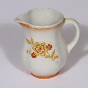 Arabia kukkakuvio kaadin, oranssi, suunnittelija , pieni, siirtokuva, lysterifondi